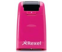 Roller pentru confidentialitate, roz, REXEL ID Guard