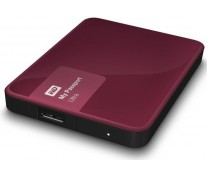 Hard disk extern WD My Passport Ultra 500GB Berry USB 3.0 Hardware Encryption