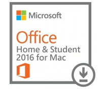 MICROSOFT OFFICE Home and Student 2016 for MAC, licenta electronica - ESD, All languages, FPP