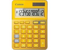 Calculator de birou, 12 digiti, galben, CANON LS-123K