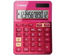 Calculator de birou, 12 digiti, roz, CANON LS-123K