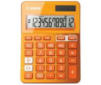 Calculator de birou, 12 digiti, portocaliu, CANON LS-123K