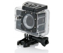 Camera video sport XINDAO, 11 accesorii, negru
