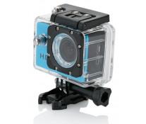 Camera video sport XINDAO, 11 accesorii, albastru