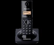 Telefon DECT PANASONIC KX-TG1711FXB, negru, fara fir