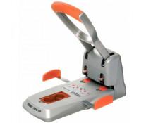 Perforator max. 150 coli, argintiu/portocaliu, RAPID Supreme HDC150/2
