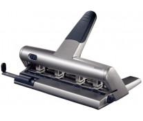 Perforator pentru 4 perforatii, max. 30 coli, argintiu, LEITZ 5114