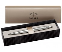Pix, PARKER Jotter Premium Shiny Stainless Steel Chiselled CT
