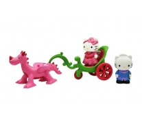 Set trasura cu dragon, HELLO KITTY Girls