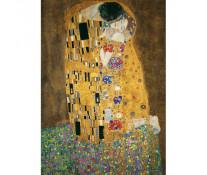 Puzzle Gustav Klimt - Sarutul, 1000 piese, RAVENSBURGER Puzzle Adulti