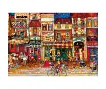 Puzzle strazile Frantei, 1000 piese, RAVENSBURGER Puzzle Adulti