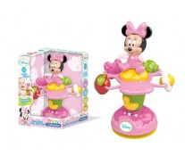 Jucarie floare rotativa Minnie Mouse, CLEMENTONI Disney Baby