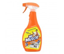 Spray curatare obiecte bucatarie MR MUSCLE 5 in 1 Kitchen, 500ml
