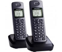 Telefon DECT GRUNDIG D1130 Duo, negru, fara fir
