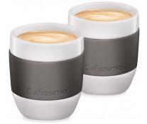 Set cati Espresso, portelan, 40ml, 2 cani/set, gri, TCHIBO Cafissimo MINI