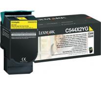 Toner, yellow, LEXMARK C544X2YG