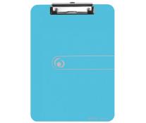 Clipboard Simplu, A4, Albastru Transparent, HERLITZ, Easy Orga To Go