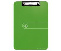 Clipboard Simplu, A4, Verde Opac, HERLITZ, Easy Orga To Go
