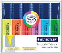 Textmarker 1-5mm, 6 culori/set, STAEDTLER Textsurfer classic