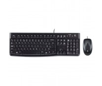 Kit tastatura + mouse LOGITECH Wired Desktop MK120