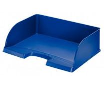 Tavita documente cu deschidere pe latura mare, albastru, LEITZ Plus Jumbo
