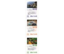 Calendar perete 100% personalizabil, 13 file, print fata