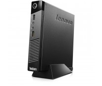 Mini Sistem PC LENOVO ThinkCentre M53 Tiny Desktop, J1800 2.41GHz Bay Trail, 4GB DDR3, 320GB, GMA HD, FreeDOS