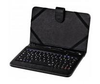 """Husa de protectie cu tastatura HAMA pentru tableta de 8.0"""", negru"""
