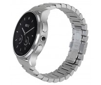 SmartWatch VECTOR Watch Luna, argintiu, bratara metalica