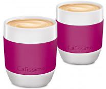 Set cati Cafea filtru, portelan, 250ml, 2 cani/set, berry, TCHIBO Cafissimo MINI