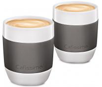 Set cati Cafea Filtru, portelan, 250ml, 2 cani/set, gri, TCHIBO Cafissimo MINI