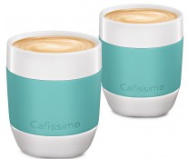 Set cati Cafea filtru, portelan, 250ml, 2 cani/set, mint, TCHIBO Cafissimo MINI
