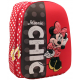 Ghiozdan, clasele 1-4, 2 fermoare, MINNIE MOUSE 3D