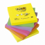 Notes autoadeziv, 76 x 76mm, 6 x 100 file/pachet, diferite culori intense, POST-IT Z-Notes R330-NR