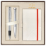 Set PARKER Urban Fashion Fast Track Silver CT - Stilou + Pix