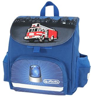 Ghiozdan ergonomic neechipat HERLITZ Mini SoftBag Fire Truck