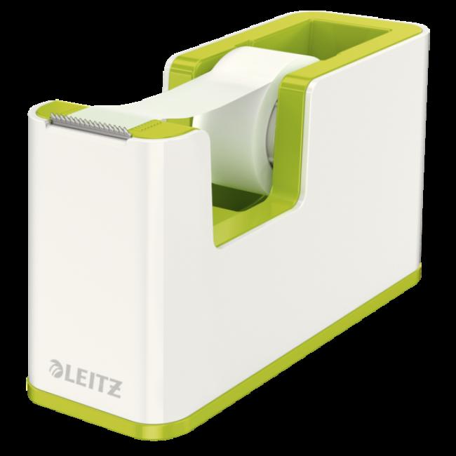 Dispenser Banda Adeziva Inclusa  Verde Metalizat  Leitz Wow