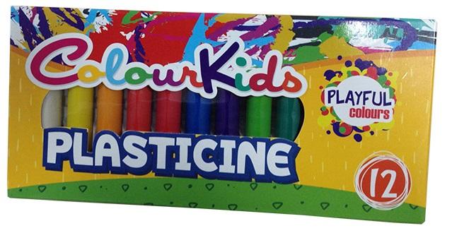 Plastilina 200g 12 culori/set PIGNA ColourKids