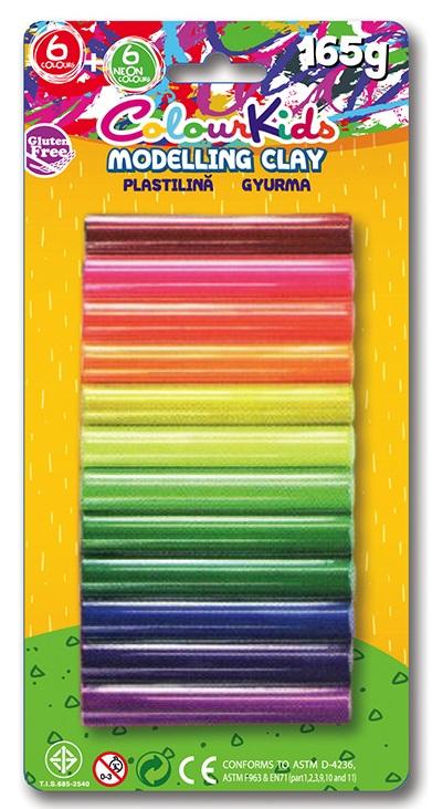 Plastilina 165g 12 culori/set PIGNA ColourKids