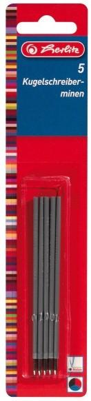 Mine pix plastic culori asortate 5 buc/set HERLITZ x20