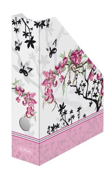 Suport vertical din carton albastru HERLITZ Ladylike