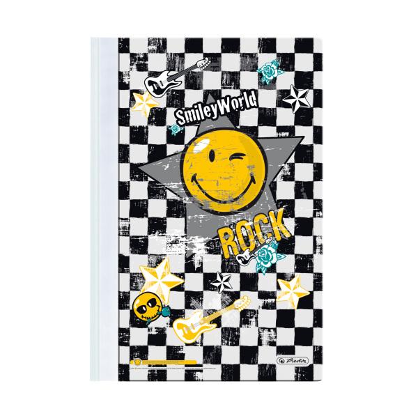 Dosar din plastic cu sina A4 HERLITZ Smiley World Rock