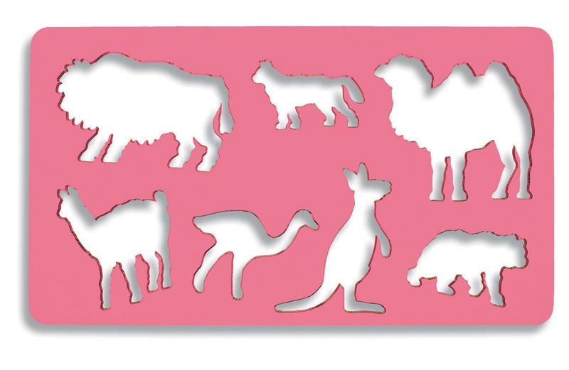 Sablon 7 animale salbatice KOH-I-NOOR