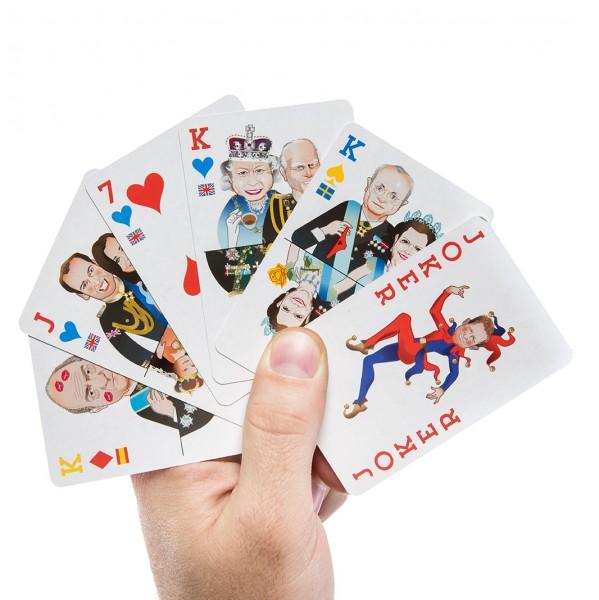 Set carti de joc Donkey Royal Flush