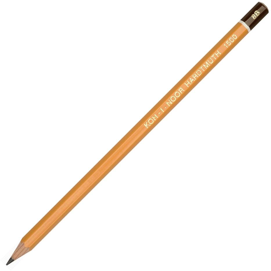Creion cu mina grafit 8B hexagonal KOH-I-NOOR