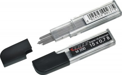 mine pentru creion 0.5mm hb 15 buc/etui laco