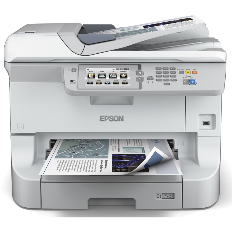 Multifunctional Inkjet Color Epson Workforce Pro Wf-8510dwf  A3+  Wi-fi