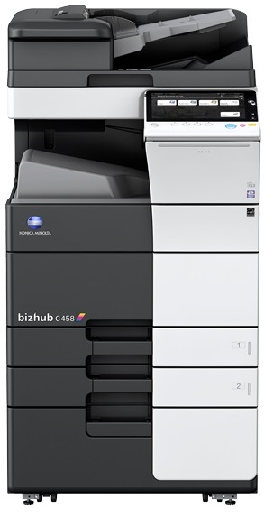 Multifunctional Laser Color Konica Minolta Bizhub C458  A3 + Desk (dk-510) + Tonere (bk/c/m/y)