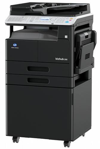 Multifunctional Laser Monocrom Konica Minolta Bizhub 266 A3 + Feeder (df-625) + Desk (dk-706) + Toner (tn222)