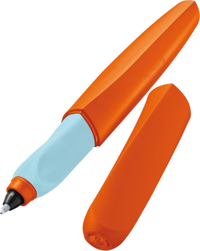 Roller grip ergonomic portocaliu PELIKAN Twist